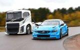 Volvo S60 Polestar ile The Iron Knight Kamyon Karşı Karşıya