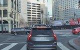 Trafik Kurallarını İhlal Eden Sürücüsüz Über Aracı
