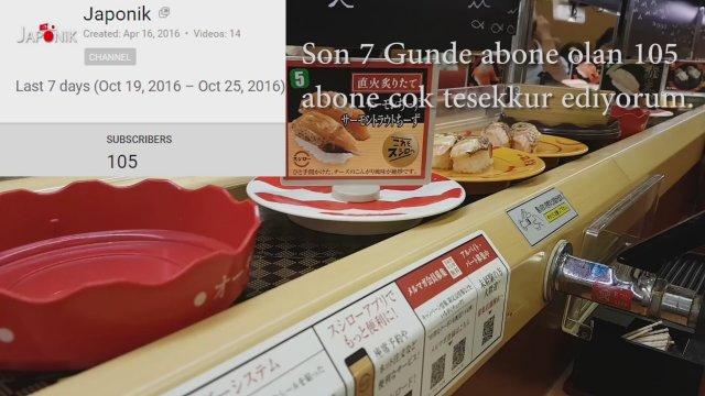 Japonyada Sushi Nasıl Yenir Video Alkışlarla Yaşıyorum