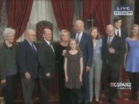 Joe Biden'ın Küçük Kızla Yakınlaşması