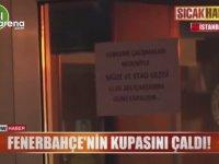 Trabzonspor Taraftarının Fenerbahçe Müzesinden Kupa Çalmaya Kalkışması