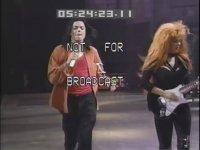 Michael Jackson - Black Or White - Dangerous Turnesi Hazırlıkları (1993)