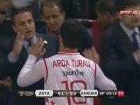 Arda Turan Basketbol Oynarsa