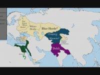 Türk Dünyası Haritası (MÖ 222 - MS 2017)