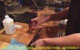 Bıçak Yapımı  Japon Nakiri