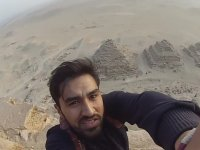 Fatih Kömürcü'nün Piramitlere Tırmanarak Tutuklanması