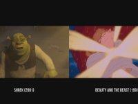 Shrek Filminin Esinlendiği Tüm Sahneler