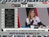 Beşiktaş - Konyaspor Maçında Beşiktaş Tv'nin Çoşması