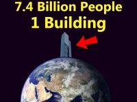 Dünyadaki Tek Bir Binada 7.4 Milyar İnsan Yaşasaydı?