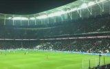 Vodafon Arena'da İzmir Marşı