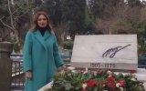 Ganire Paşayeva'nın Atsız'ın Kabrini Ziyareti