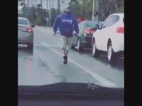Biber Gazlı Sopalı Trafik Kavgası