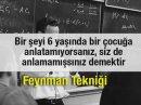 Öğrenmeyi ve Hatırlamayı Kolaylaştıran Feynman Tekniği