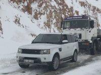 Range Rover İle Karda Tır Çekmek