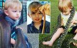 Yılanlarla Korkusuzca Oynayan 2 Yaşındaki İlginç Çocuk