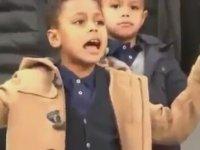 Beşiktaşlı Marcelo'nun Çocuğunun İstiklal Marşımızı Okuması