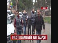 Polisten Damada Bir Adet Kelepçe - Adana