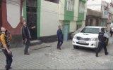 Operasyonda İlgi Odağı Haline Kadın Polisler  Gaziantep
