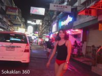 Tayland'daki Genelev Sokağı