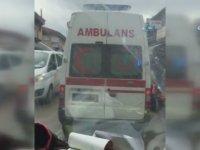 Ambulansın Pazar Alışverişi Yapması