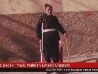 74 Yaşındaki Protez Bacaklı Vatandaşa Çalışabilir Raporu Vermek