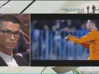 Cristiano Ronaldo'nun Kendi Gollerine Verdiği Tepkiler