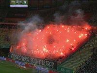 Legia Varşova Taraftarının Kareografisi