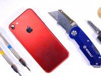 Kırmızı iPhone 7 Çizilmelere Karşı Ne Kadar Sağlam?