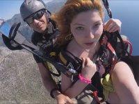 Yamaç Paraşütünde İstanbul'a Küfür Eden Kız