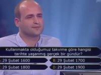 Kim Milyoner Olmak İster? - 1 Milyonluk Soruyu Kaçıran Adam!