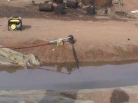 Suriye'de Seyyar Petrol Rafinerisi