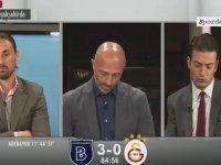 Başakşehir'in Golleri Sonrası GS TV'de Yaşananlar