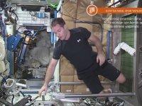 Uzayda Nasıl Spor Yapılır?