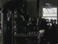 Atatürk 'ün Nazilli Basma Fabrikası Açılışı