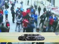 Başakşehir'li Futbolcuların Gazetecilere Saldırması