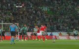 Portekiz Liginde Kaleciyi Çöktüren Frikik Golü