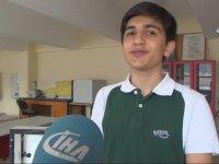 Adana Yangınından Etkilenip Geliştirdiği Proje Türkiye 1.'si Olan Genç