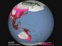 1 Dakikada 125 Bin Yıllık İnsan Göçünün Dünyaya Yayılması