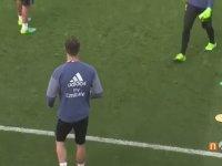 Cristiano Ronaldo'dan Antremanda Müthiş Fake