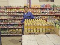 Süpermarkette Flasmob - Rusya