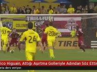 Eski Beşiktaşlı Higuain'in Amerika'daki Golleri