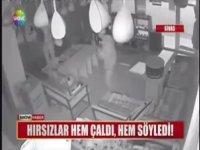 Müzik Dükkanında Akord Yapıp Bağlama Çalan Hırsızlar