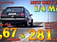 Bugatti Veyron Gücünde 1200 Beygirlik Golf!