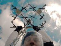 Paraşütle Drone'dan Atlamak