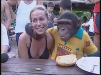 Maymun Hüsnü Tatilde