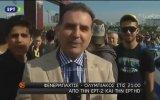 Yunan Kanalı Muhabirine ''Atatürk Ulan, Türkiye' Diye Haykırmak