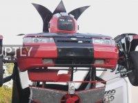 Silahlı Transformers'a Dönüşen Lada