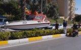Yatın Otomobil İle Çarpışması  Türkiye