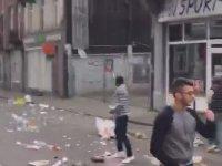 Brüksel Sokaklarında Türklerin Protestosu