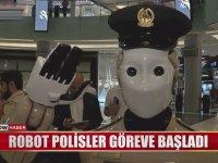 Dubai'de Göreve Başlayan Robot Polisler